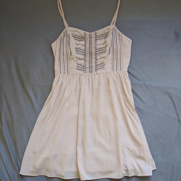 Abercrombie white dress